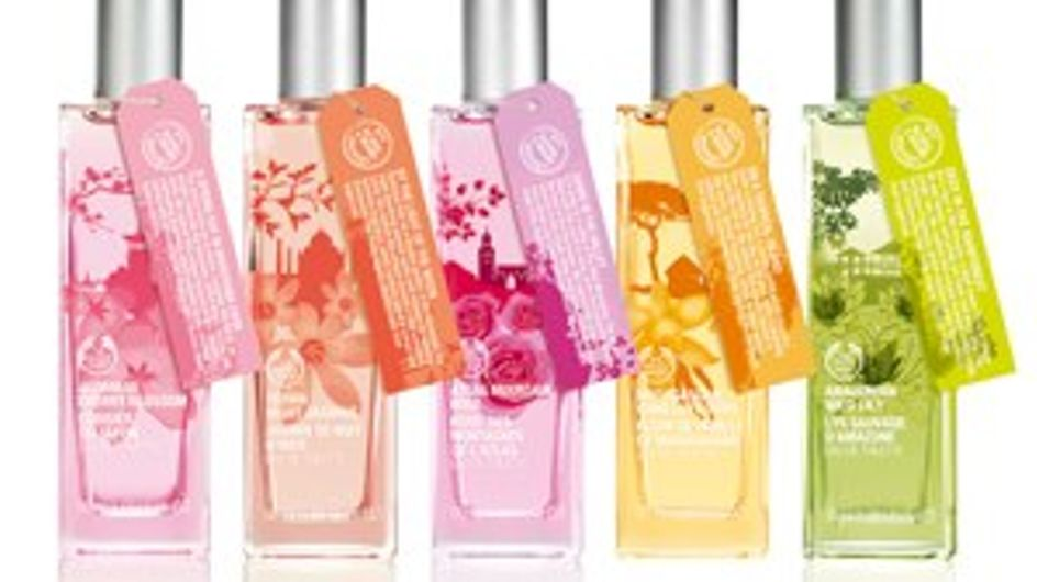 Beauty buy: Body Shop scents of the world