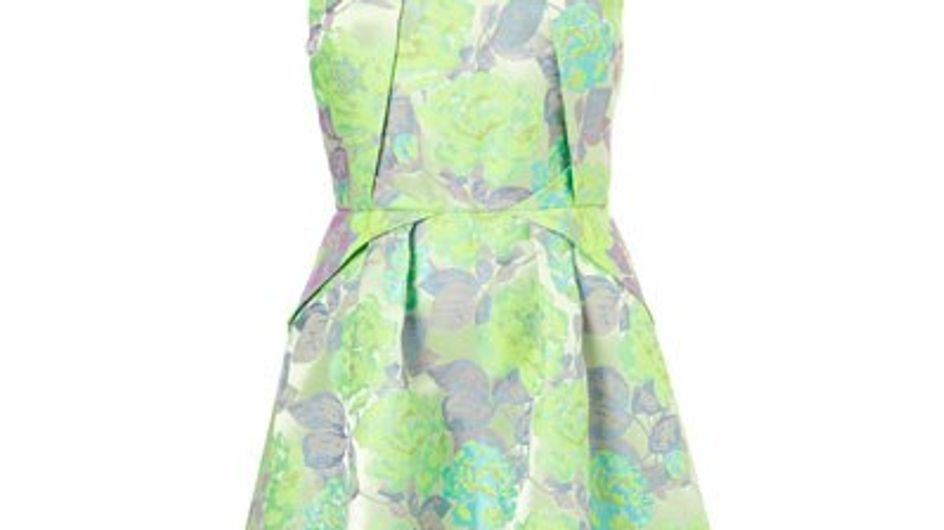 Fashion buy: Topshop fluro flower origami dress