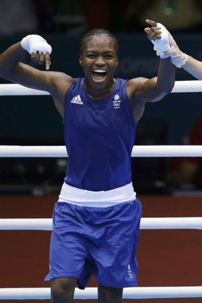 olympic medal team gb nicola adams
