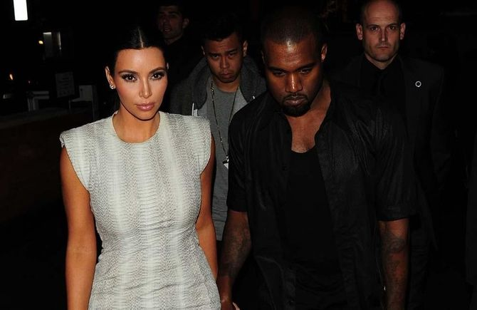 Kayne and Kim Kardashian to move in together