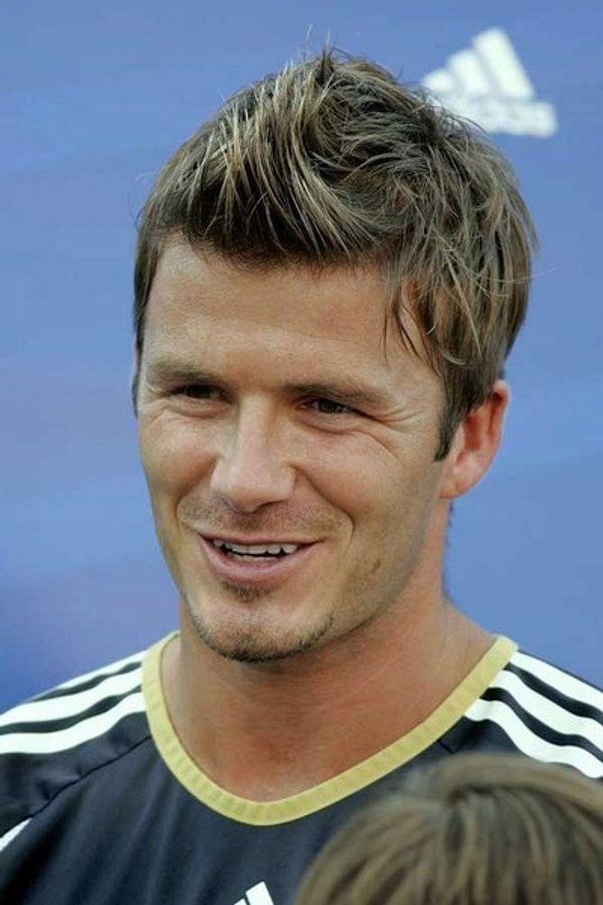 David Beckham admits he was drunk when he got cornrows