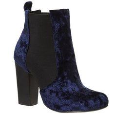 Fashion buy: Bertie velvet boots