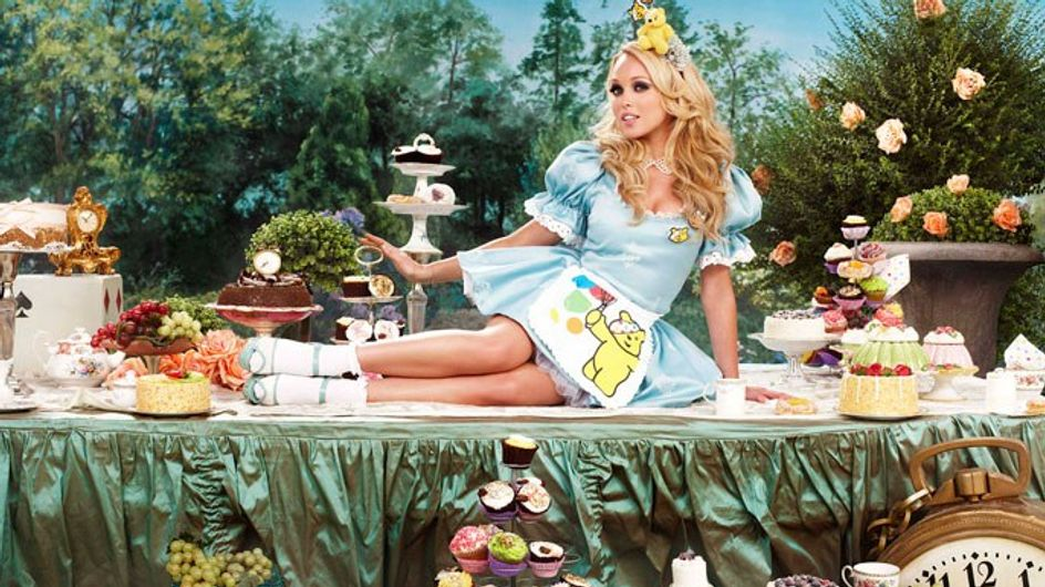 Children In Need 2012: Stars dress up for Mad Hatter's tea party