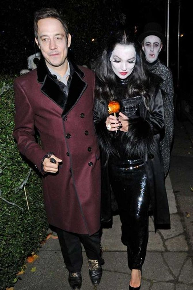 Holly Willoughby is unrecognisable at Jonathan Ross' Halloween party