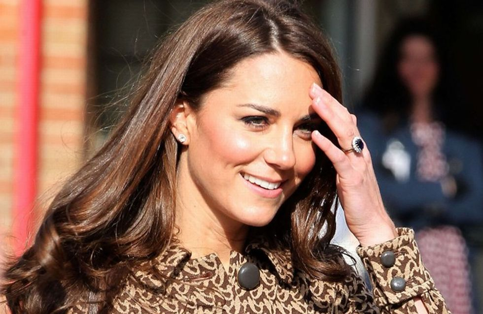 Kate Middleton jokes about wearing infamous see-through fashion show dress