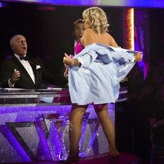 Strictly 2012: Fern Britton sent home after sexy strip