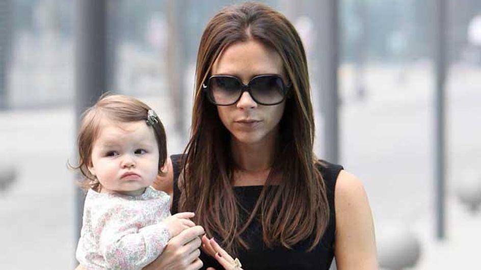 Victoria Beckham takes the kids for dinner at Gordon Ramsay's house