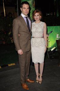 Chris Pine and Isla Fisher