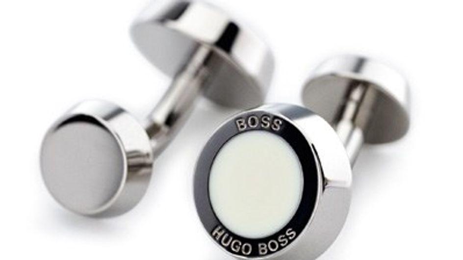 Hugo Boss cufflinks - a perfect gift!
