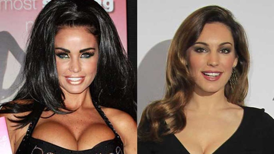 """Katie Price labels Kelly Brook a """"heffer"""" after post-split """"weight gain"""""""