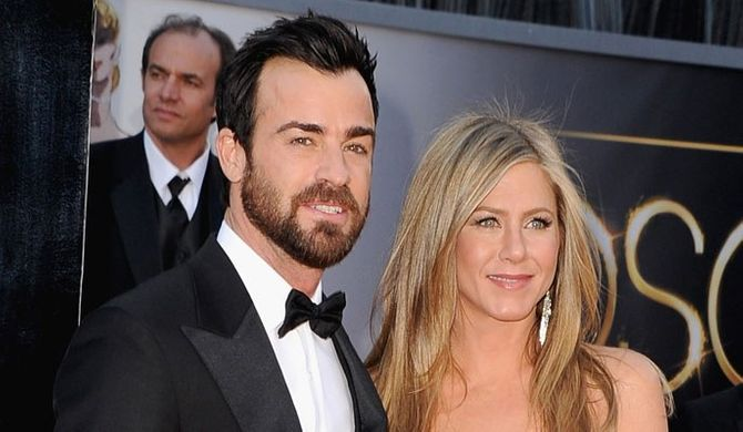Jennifer Aniston pregnant? Justin Theroux sparks rumours the actress is expecting