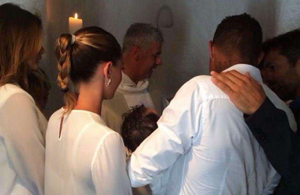 Melissa Satta e Boateng al battesimo del piccolo Maddox. Le foto!