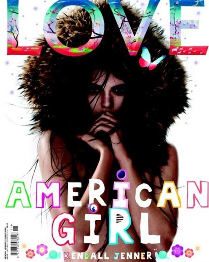 Kendall Jenner pour LOVE Magazine