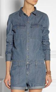 Jeans jumpsuit bij Net-a-Porter