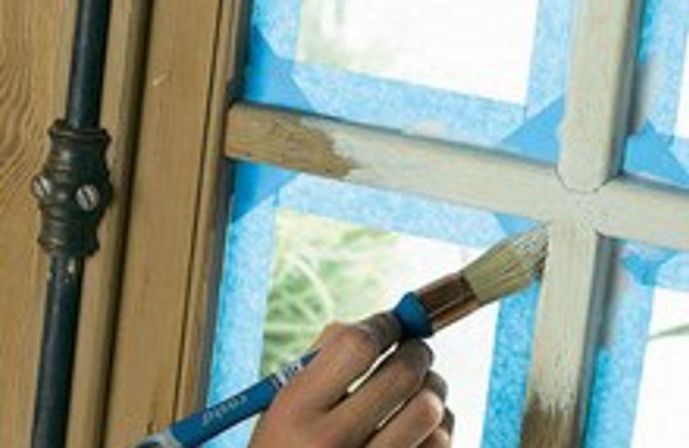 Bien peindre une fenêtre