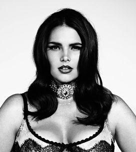 Candice Huffine, la primera modelo de tallas grandes que participará en el calen