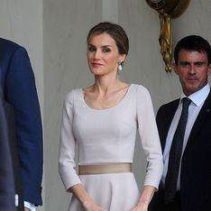 Letizia d'Espagne : L'élégance incarnée pour sa première visite en France (Photo)