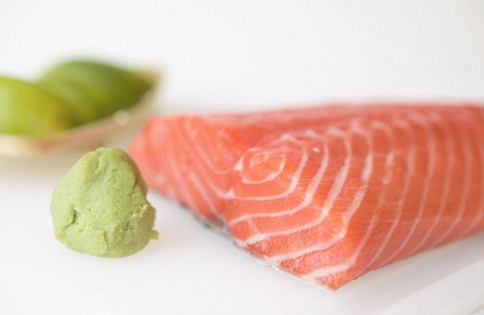 Les calories des poissons