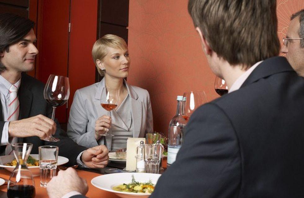 Garder la ligne malgré les repas d'affaires