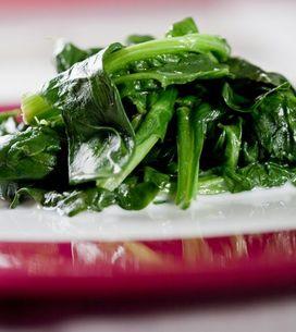 Comment préparer les épinards?