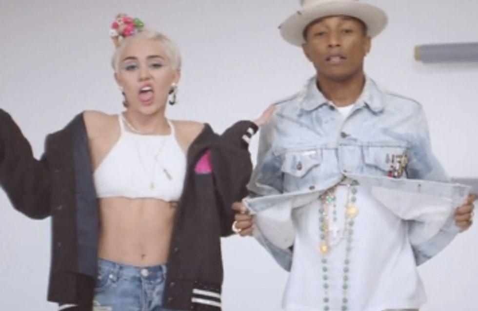 Pharrell Williams et Miley Cyrus réunis dans un clip (vidéo)