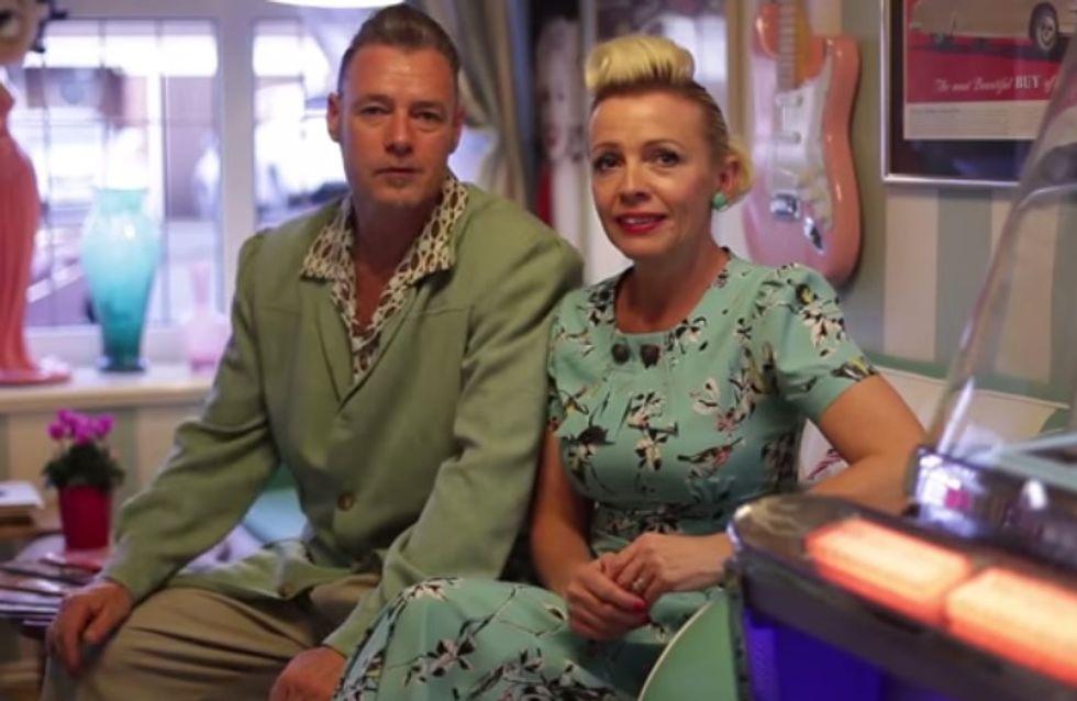 Pour sauver son mariage, un couple a décidé de vivre comme dans les années 50