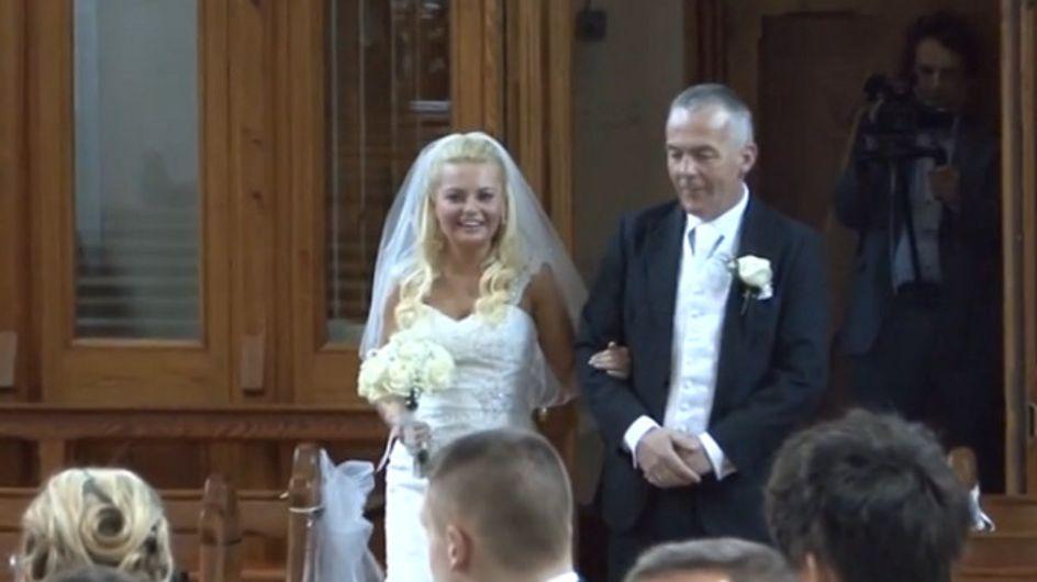 Un sacerdote sorprende a todos con su impresionante voz en una boda