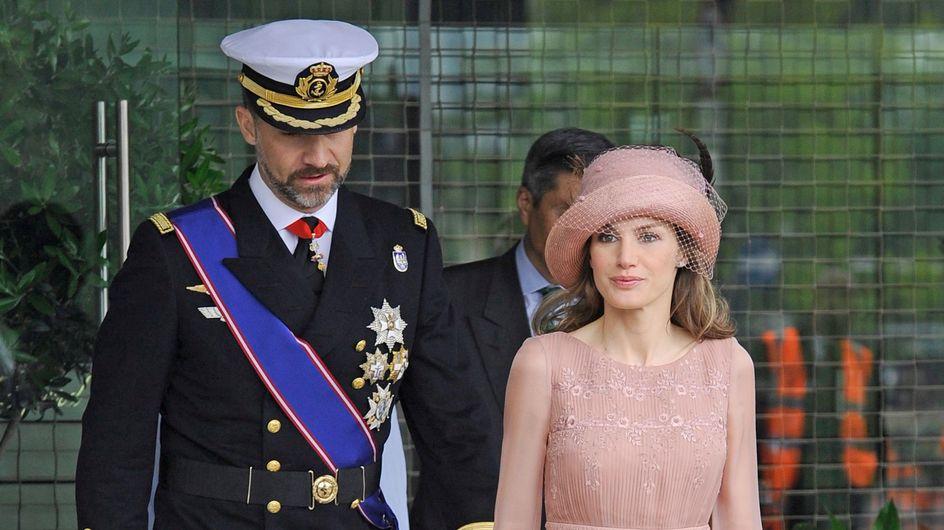 Letizia repite el look de la boda de los Duques de Cambridge durante su visita a Santiago
