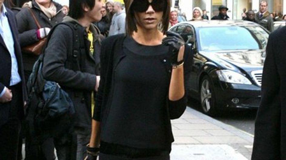 Victoria Beckham : elle veut grossir pour tomber enceinte !