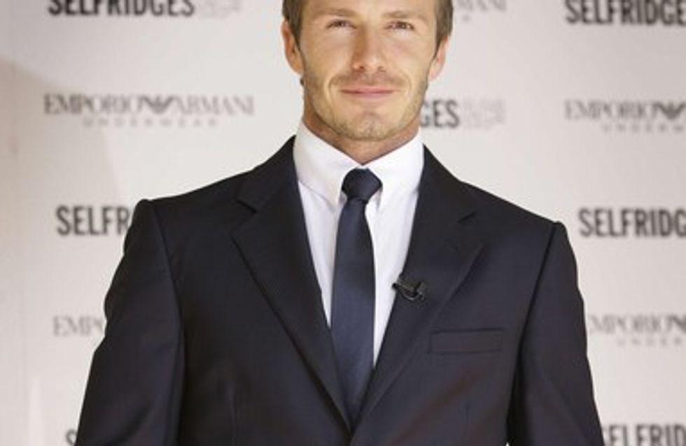 David Beckham : Bientôt un premier rôle au cinéma ?