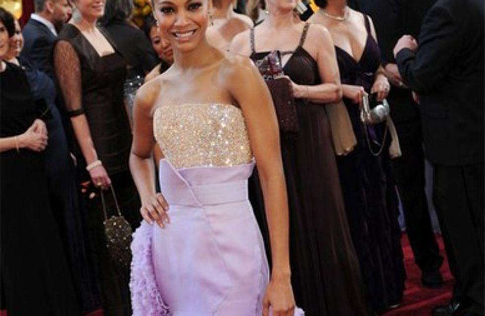 Zoe Saldana : Elle déteste les jupes !