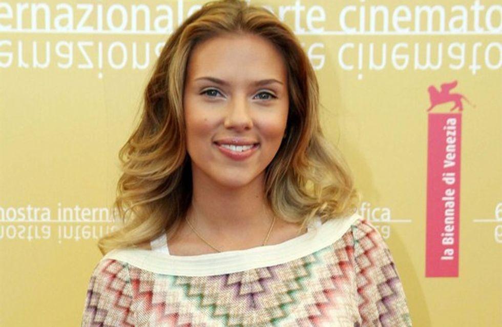 Scarlett Johansson, accro à la cuisine !