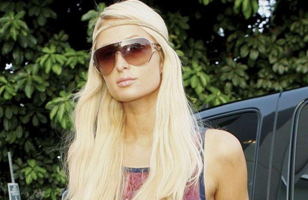 Paris Hilton : sa maison en feu !