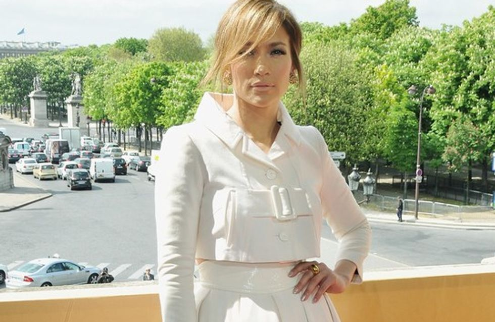 Jennifer Lopez radieuse à Paris !