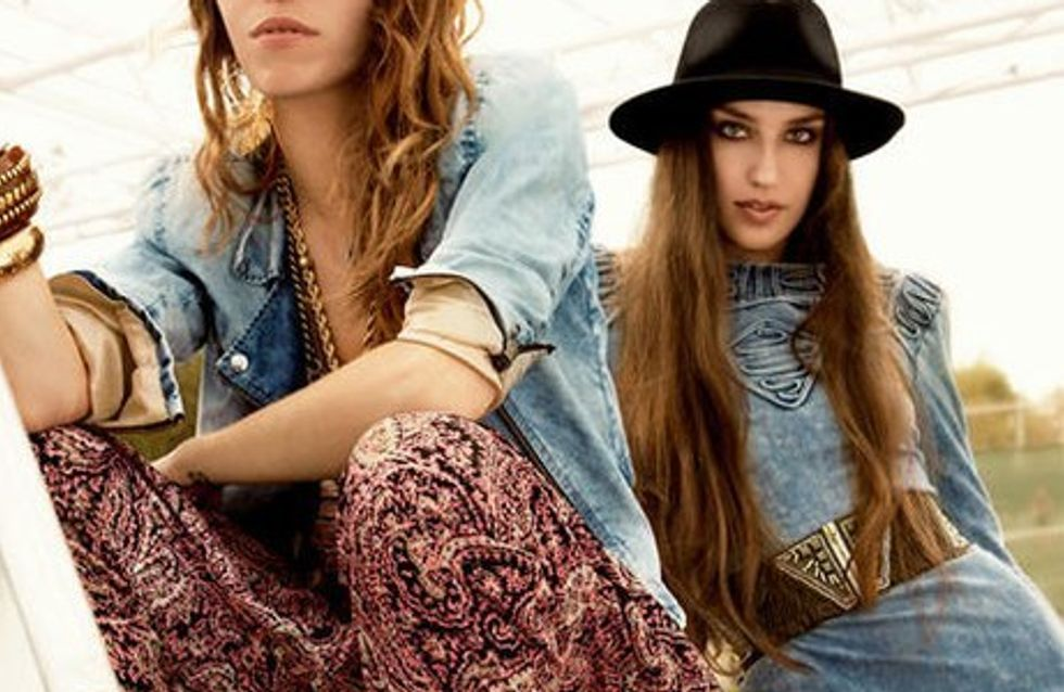 Lou Doillon et Lizzie Jagger posent pour H&M !