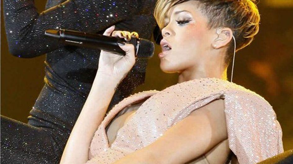 Rihanna : son show ultra-sexy à Paris !