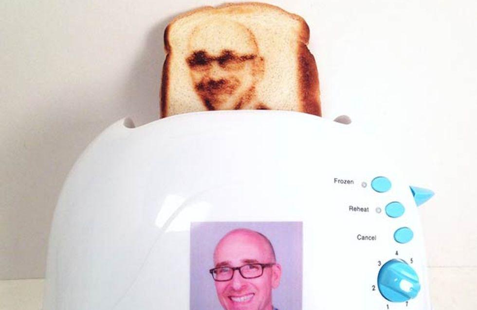 Et si vous imprimiez votre selfie sur vos toast ?