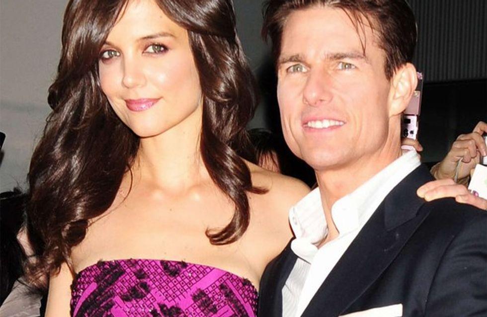 Tom Cruise et Katie Holmes se lâchent en public !