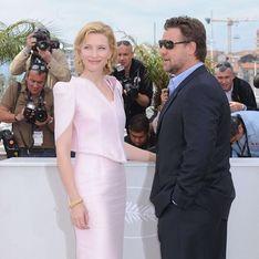 Russell Crowe et Cate Blanchett: Festival de Cannes, première !