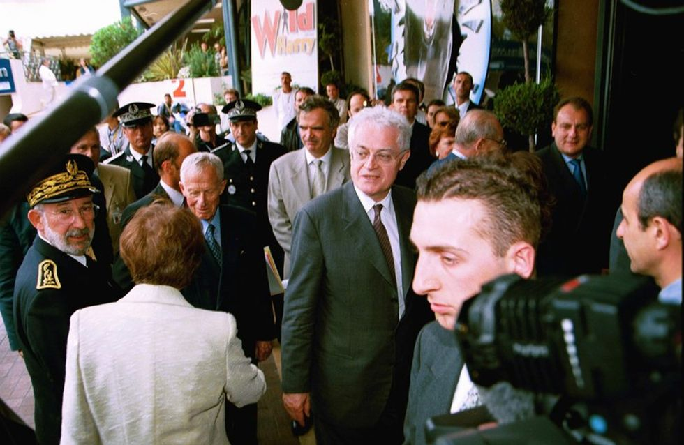 Cannes: Lionel Jospin s'offre le tapis rouge