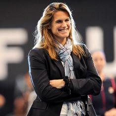 Commentatrice, Amélie Mauresmo s'éclate à Roland Garros