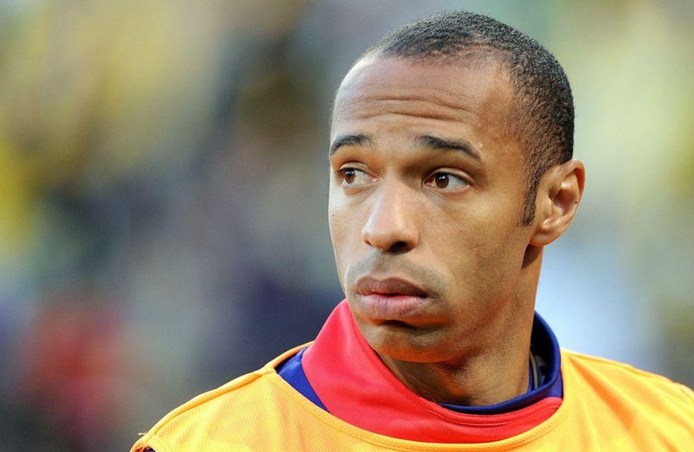 Coupe du Monde : Thierry Henry reçu à l'Elysée