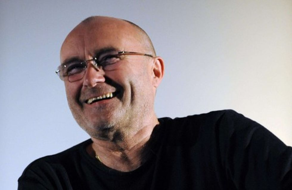 Phil Collins a la bougeotte