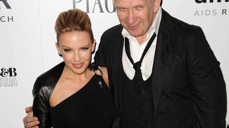 Kylie Minogue et Jean Paul Gaultier unis contre le sida