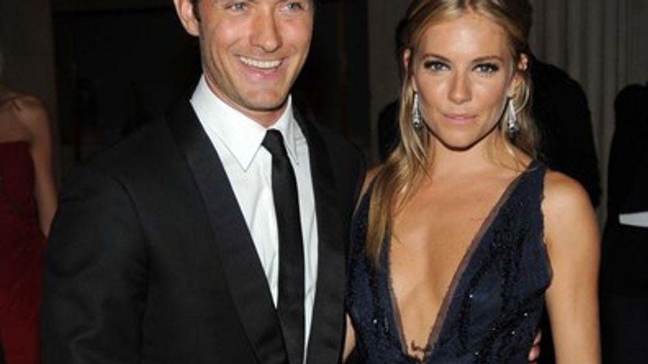 Jude Law et Sienna Miller veulent se marier en France, cet été