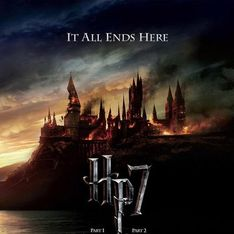 Harry Potter 7 : l'affiche dark