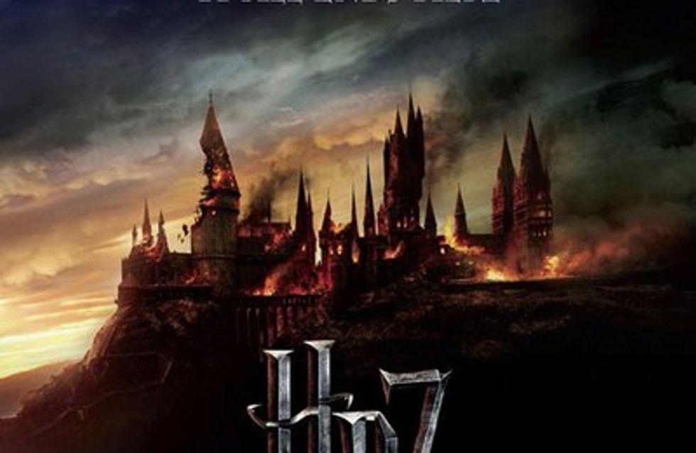 Harry Potter 7 : l'affiche dark