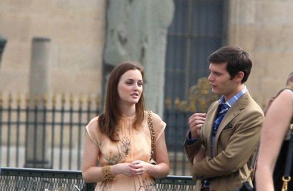 Photos : les Gossip Girls en tournage à Paris