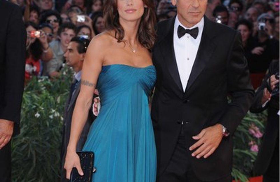 Elisabetta Canalis : George Clooney a donné des couleurs à ma vie