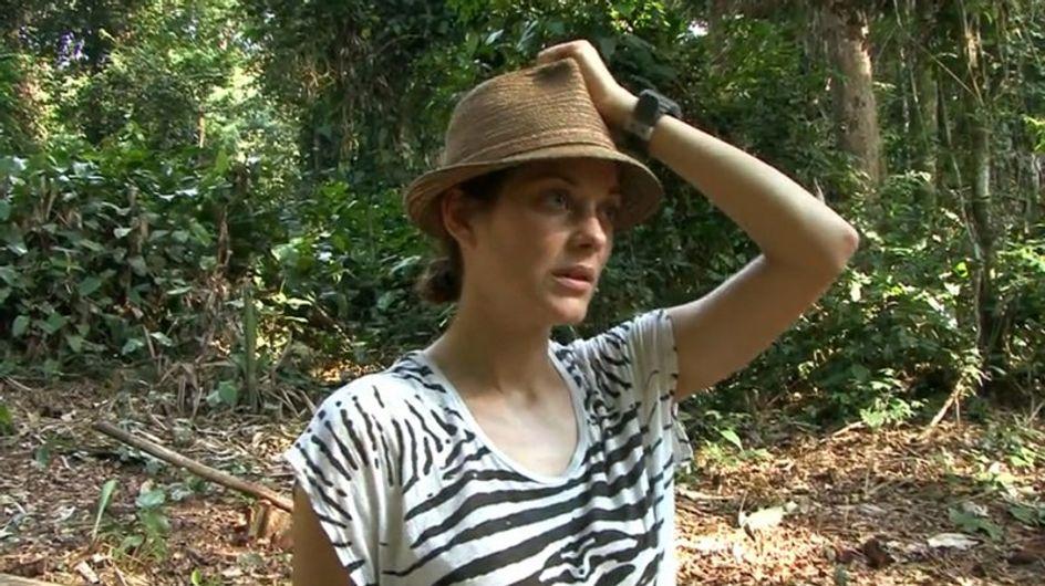 Vidéo : Marion Cotillard sur la route du bois précieux